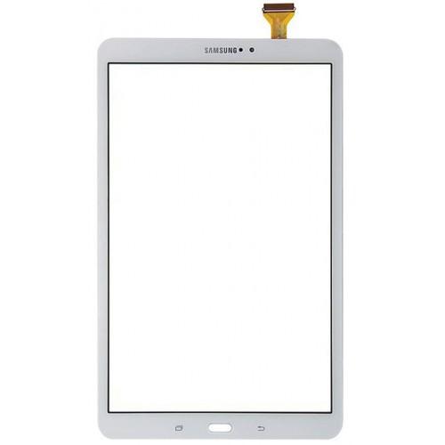 Galaxy Tab A 10.1 T580 T585 Dotyk Digitizer Biały
