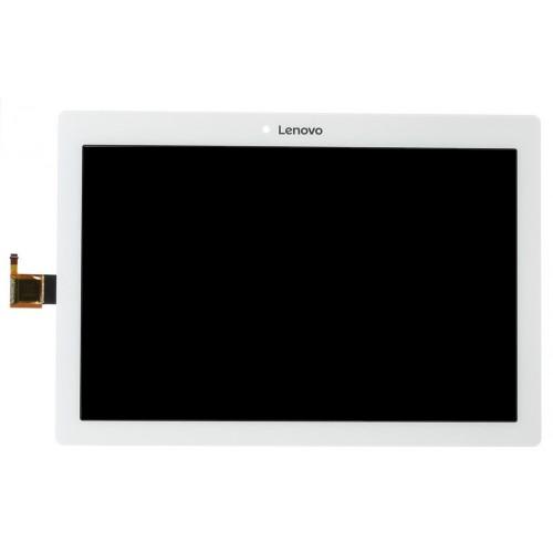 Lenovo Tab 2 A10-30 YT3-X30 X30F TB2-X30F TB2-X30l A6500 Dotyk+LCD Biały